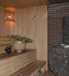 Баня на дровах в районе автовокзала Сумы
