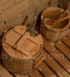 Баня на дровах в красном селе под Сумами
