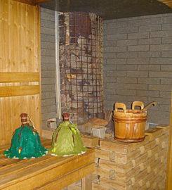 Русская баня в Дендропарке (г. Полтава)