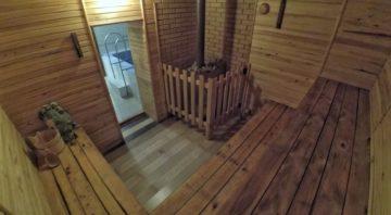 Баня на дровах в Верхней Сыровотке
