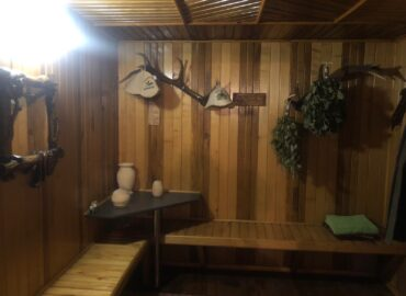Баня на дровах в Низах Сумы