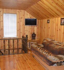 Новая баня на дровах на Добровольной Сумы