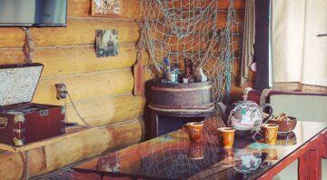 Баня на Днепре Домик рыбака
